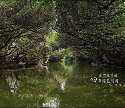 【台南 景點】四草綠色隧道 | 台灣的迷你亞馬遜 (如何購票、搭船時間)