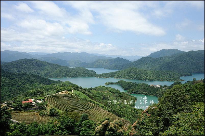 台灣千島湖。潭腰、塗潭、直潭