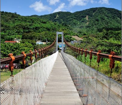 【墾丁 景點】滿州茶山吊橋 (港口吊橋)