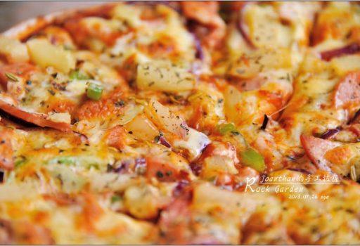 [墾丁 美食] 讓人吃過還想再來的手工Pizza。Rock Garden