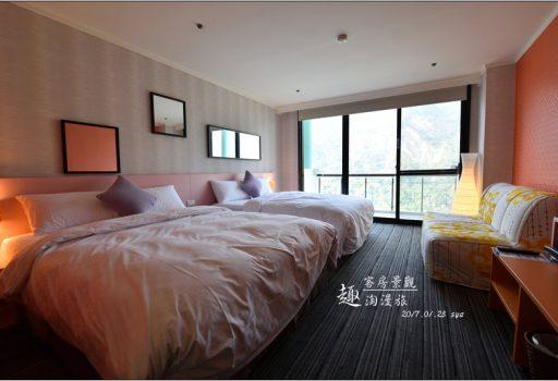 [台南 飯店] 趣淘漫旅 冒險飯店。客房空間與景觀