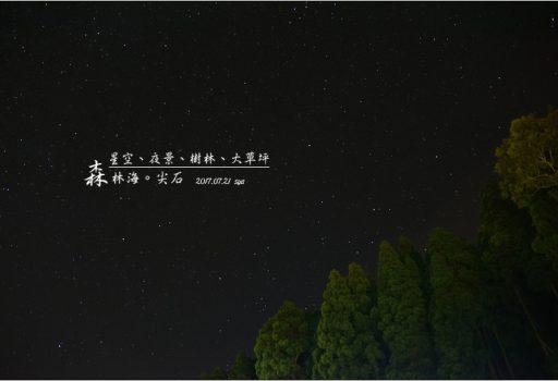 [新竹 尖石 推薦營地] 星空、夜景、樹林與大草皮。森林海