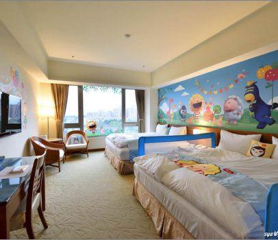 【桃園 飯店】渴望會館 | 住超萌奶油獅主題房遊六福村、小人國
