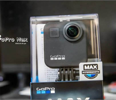 【開箱】GoPro Max | 適合家庭、運動、生活的360相機
