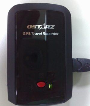 旅行記錄器+GPS藍牙接收器。QSTARZ Q1000P